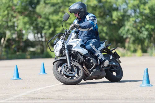 Motorrijbewijspoint Brunssum motor rijtest