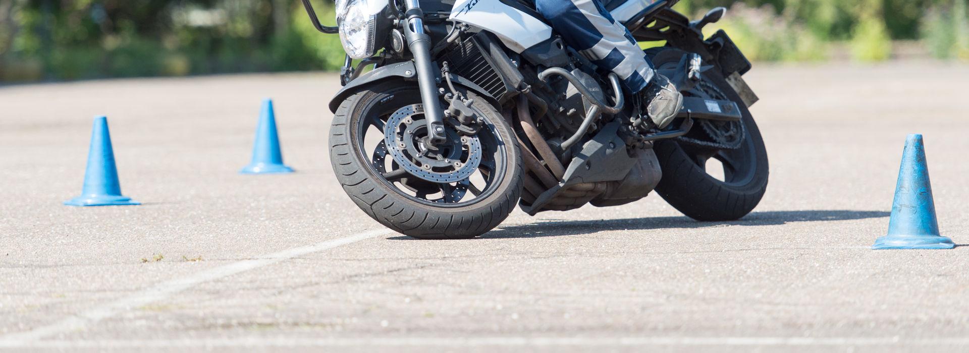 Motorrijbewijspoint Brunssum rijtest